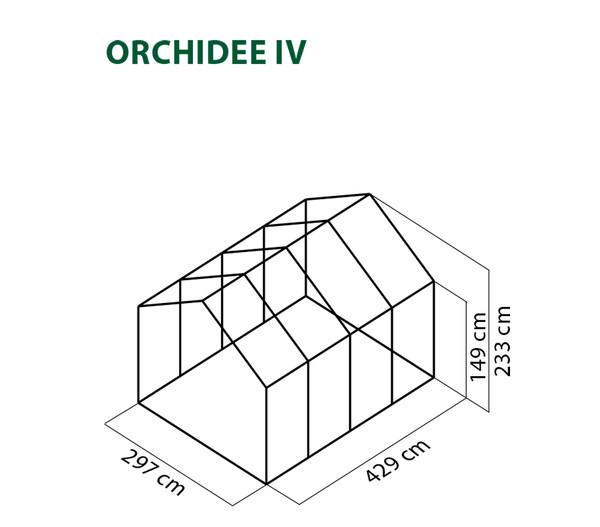 KGT Gewächshaus Orchidee IV