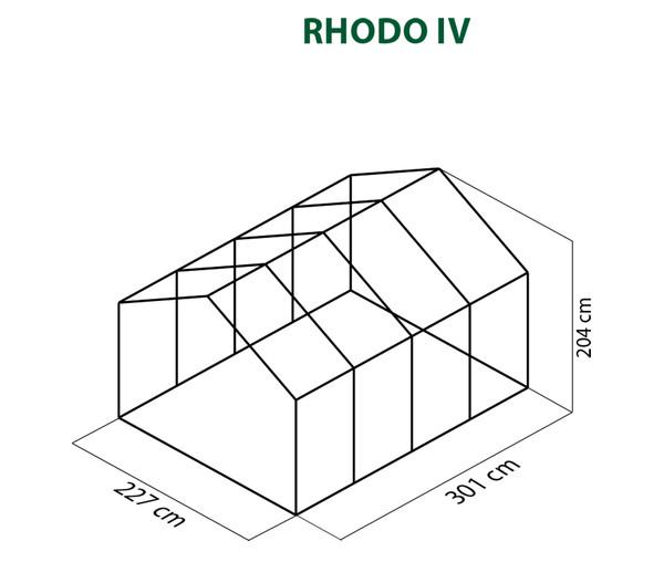 KGT Gewächshaus Rhodo IV