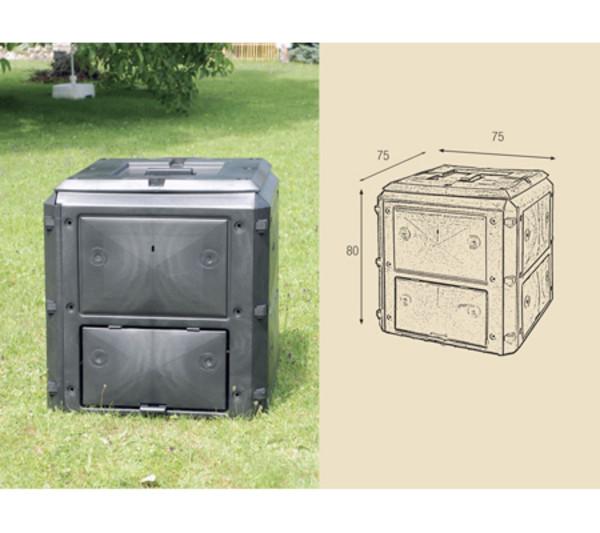 KHW Kunststoff-Komposter Bio Quick, 420 Liter