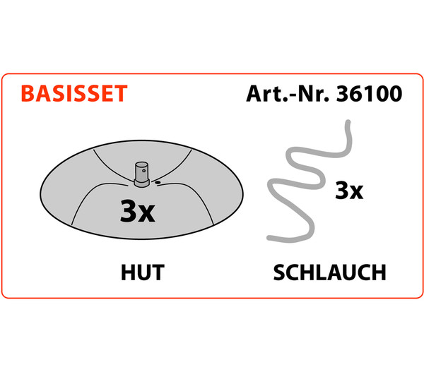 KHW Tomatenhut Basis-Set