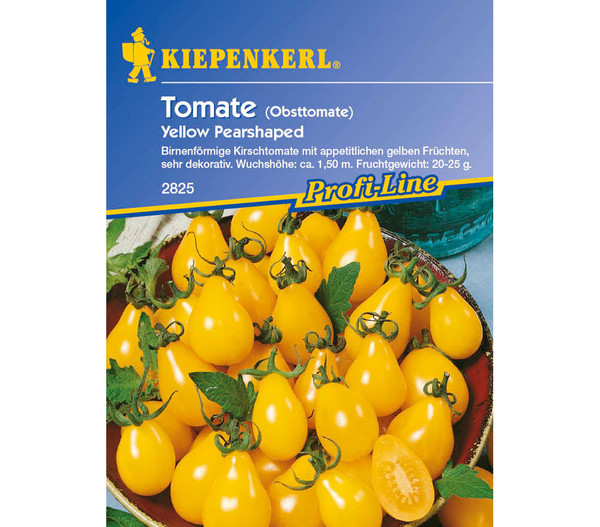 Kiepenkerl Saatgut Tomate 'Yellow Pearshaped'