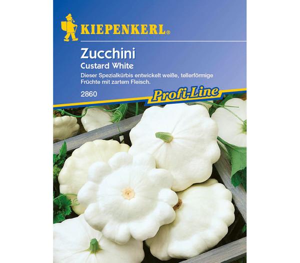 Kiepenkerl Saatgut Zucchini 'Custard White'