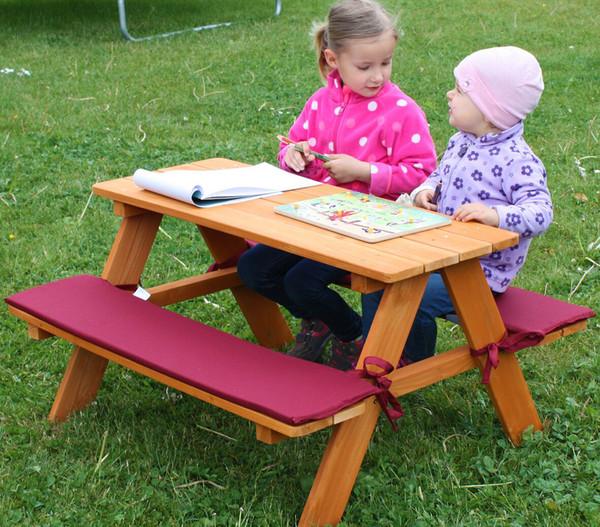 Kinder Picknickbank, 89 x 79 x 50 cm