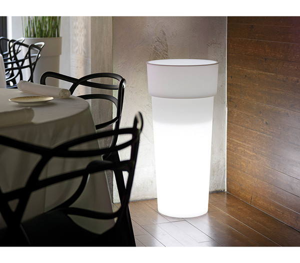 Kunststoff-Pflanzkübel Duo Light, Ø 38 cm