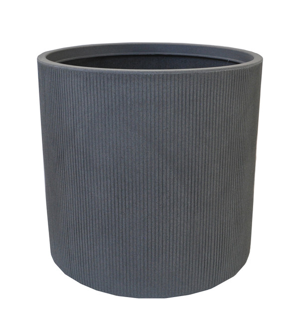 Kunststoff-Topf City, grau