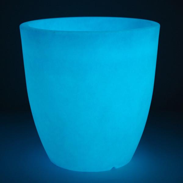 Kunststoff-Topf Orione Alto fluoreszierend