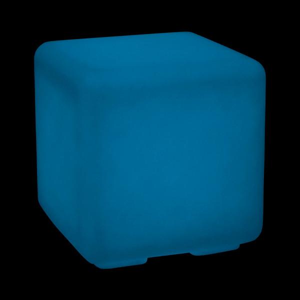 Kunststoff-Würfel Bo fluoreszierend, ca. B43/H43/T43 cm