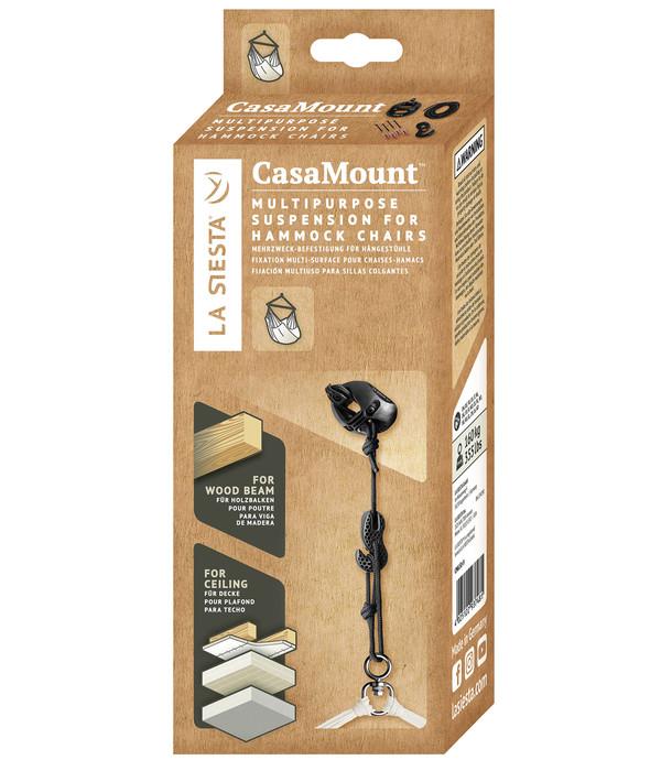 La Siesta Multizweck-Befestigung Casa Mount, schwarz