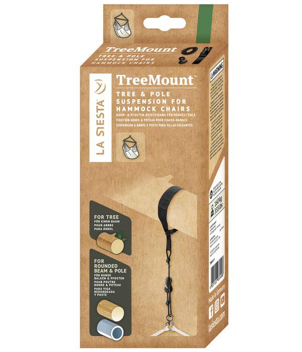 La Siesta Multizweck-Befestigung Tree Mount, schwarz