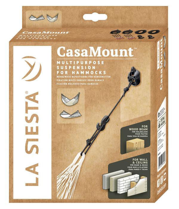 La Siesta Multizweck-Befestigungsset Casa Mount, schwarz