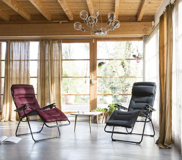 Lafuma Relaxliege Futura Air Comfort Gestell Schwarz Dehner