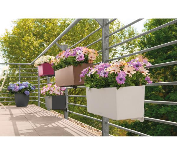 LECHUZA® Balkonkastenhalter, weiß