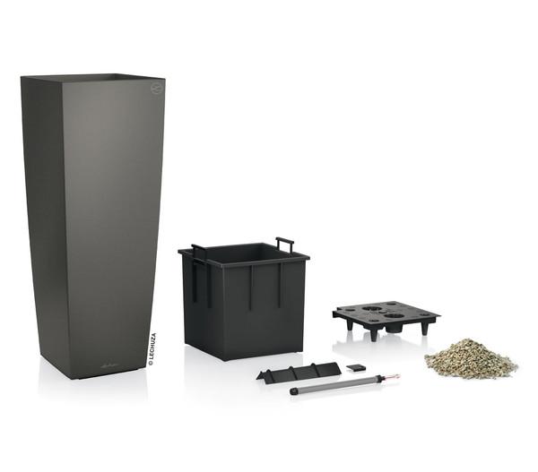 LECHUZA® Cubico Alto Premium 40, All-in-One-Set