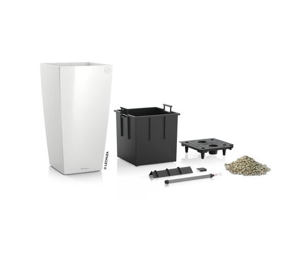 LECHUZA® Cubico Premium All-in-One-Set, 41 x 22 x 22 cm