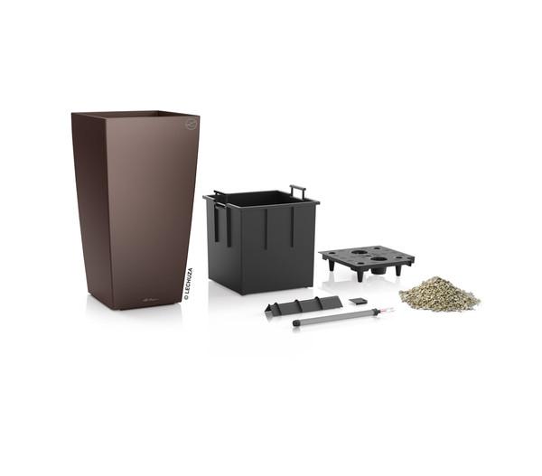 LECHUZA® Cubico Premium All-in-One-Set, 95 x 50 x 50 cm