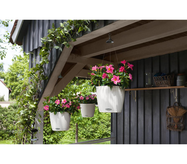 LECHUZA® Kunststoff-Hängeampel Nido Cottage
