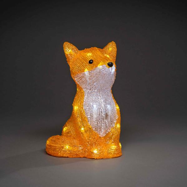 LED Acryl Fuchs, 27 cm