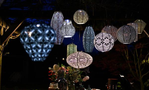 Lumiz Solar-Lampion 'Bazaar'