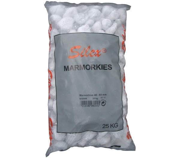 Marmorkies, 40 - 60 mm, 25 kg
