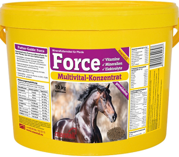 marstall® Pferde-Mineralfutter Plus Force, 10kg