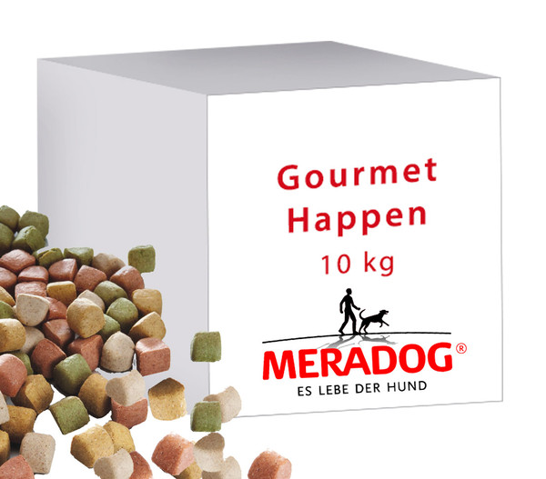 MERA® Hundesnack Gourmet Happen, 10kg