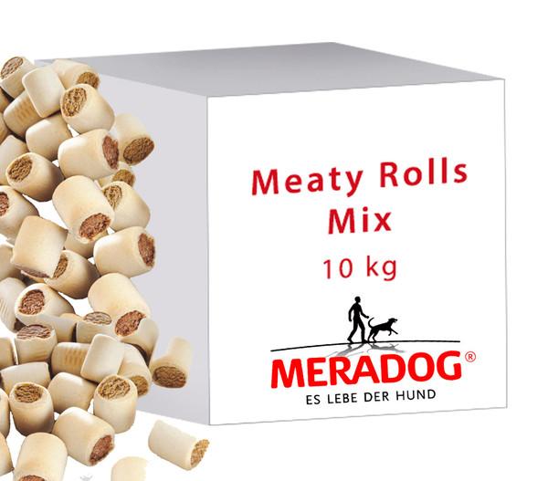 MERA® Hundesnack Meaty Rolls Mix, 10kg