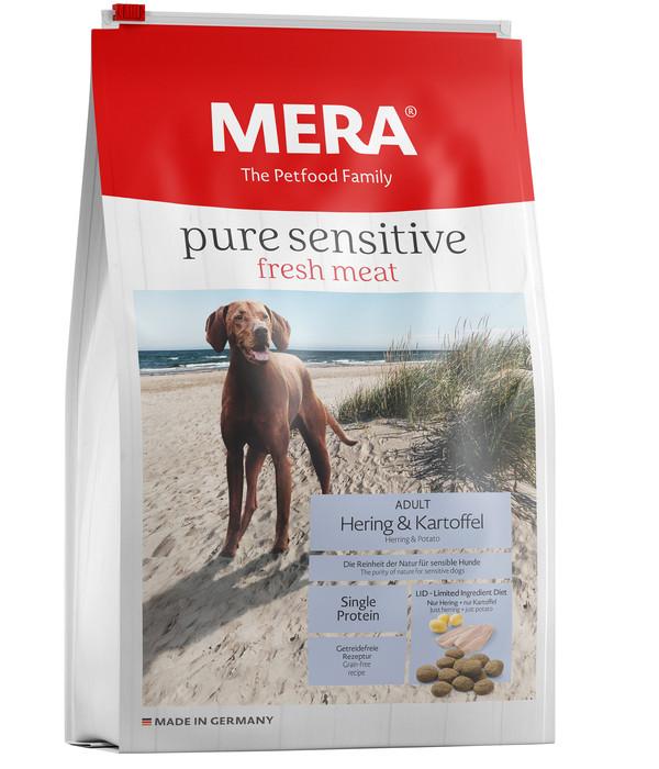 MERA® Trockenfutter pure sensitive fresh meat Adult