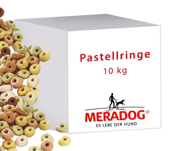 Meradog Pastellringe, Hundesnack, 10kg