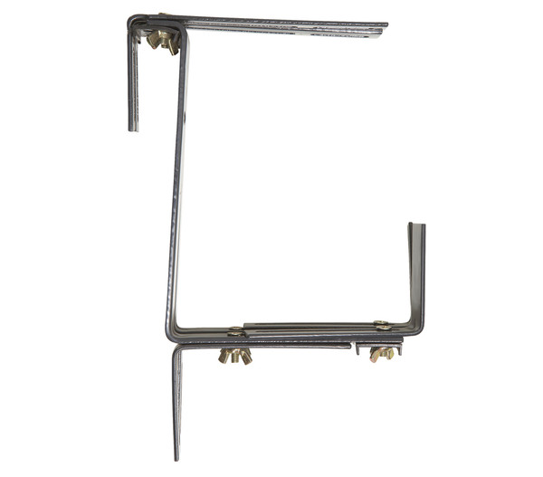 Metall-Blumenkastenhalter universal, anthrazit