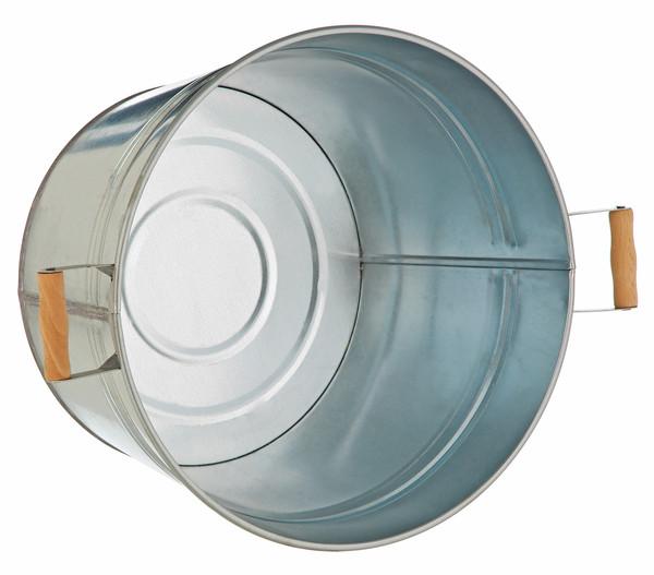 Metall-Pflanzkübel, verzinkt, Ø 36 cm | Dehner