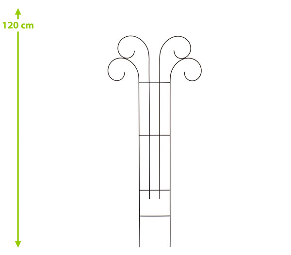Metall-Rankspalier V, 100 x 50 cm