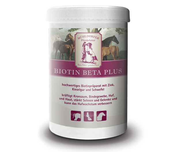 Mühldorfer Biotin Beta Plus, 750g