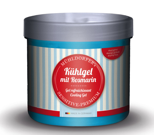 Mühldorfer Kühlgel mit Rosmarin, 500 ml