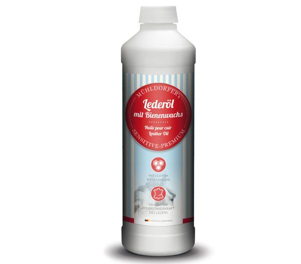 Mühldorfer Lederöl mit Bienenwachs, 500 ml