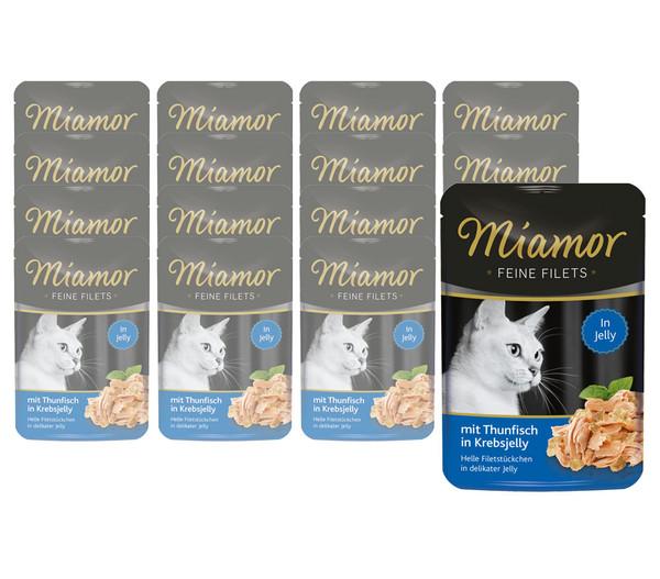 Miamor Katzensnack Feine Filets in Jelly, 24 x 100g