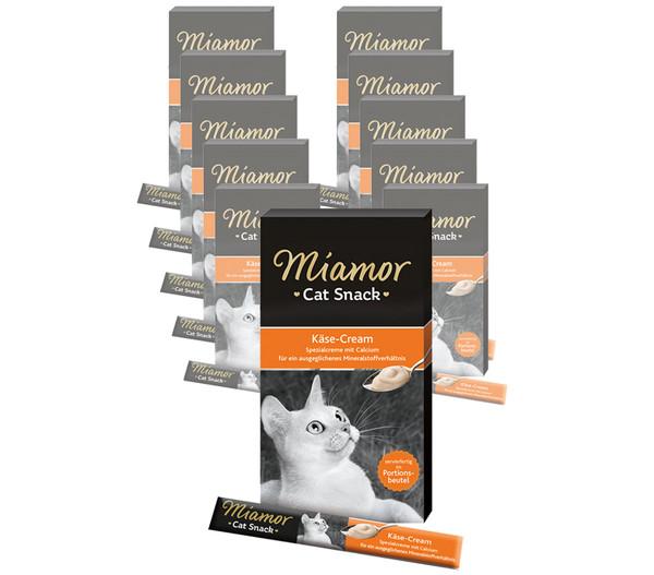 Miamor Katzensnack Käse-Cream, 11 x 6 x 15g