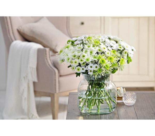 Mica decorations Glas Vase Vienne, 20 cm