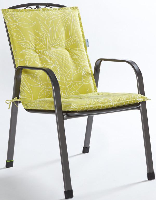 MWH Metall-Gartensessel Savoy, 93 x 73,5 x 58 cm