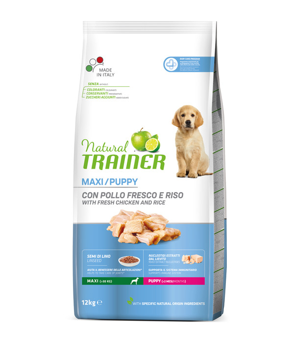 Natural TRAINER Trockenfutter Maxi Puppy