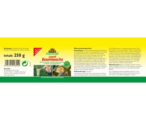 Neudorff Lauril® Baumwachs, 250 g