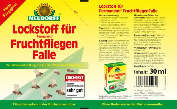 Neudorff Lockstoff für Permanent® FruchtfliegenFalle