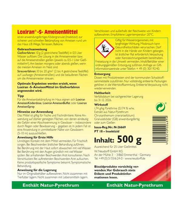 Neudorff Loxiran® -S-Ameisenmittel