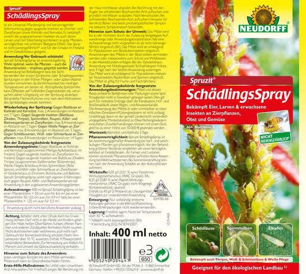 Neudorff Spruzit® SchädlingsSpray, 400 ml