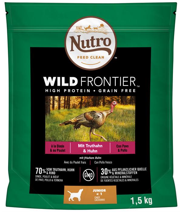 Nutro™ FEED CLEAN™ Trockenfutter WILD FRONTIER™ Junior