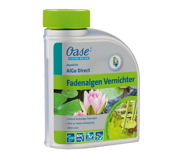 Oase Fadenalgen Vernichter AquaActiv AlGo Direct, 500 ml