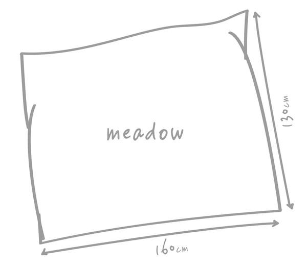 Outbag Outdoor-Sitzsack Meadow Canvas