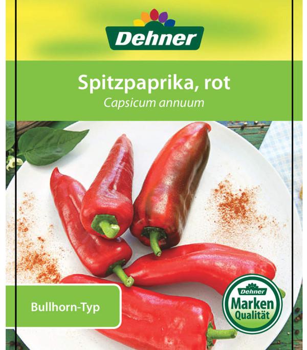Paprika 'Bullhorn', rot