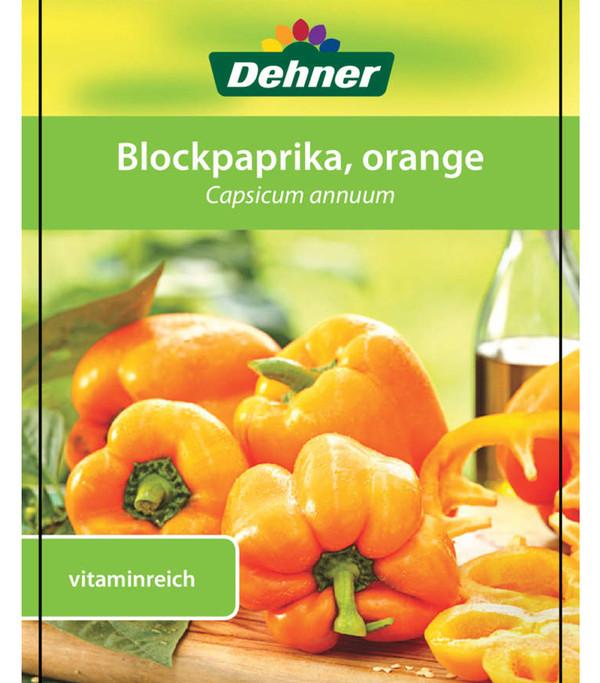 Paprika, orange