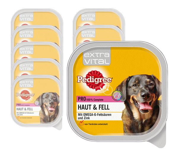 Pedigree® Nassfutter Extra Vital Pro Haut & Fell, 10 x 300g