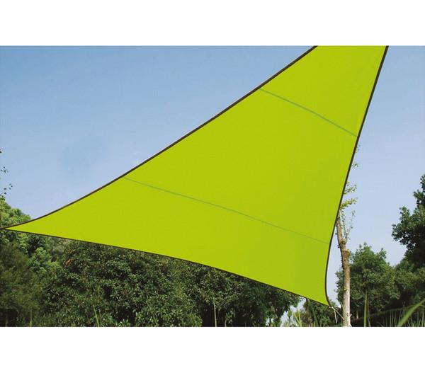 Perel Sonnensegel Dreieck, 3,6 x 3,6 x 3,6 m